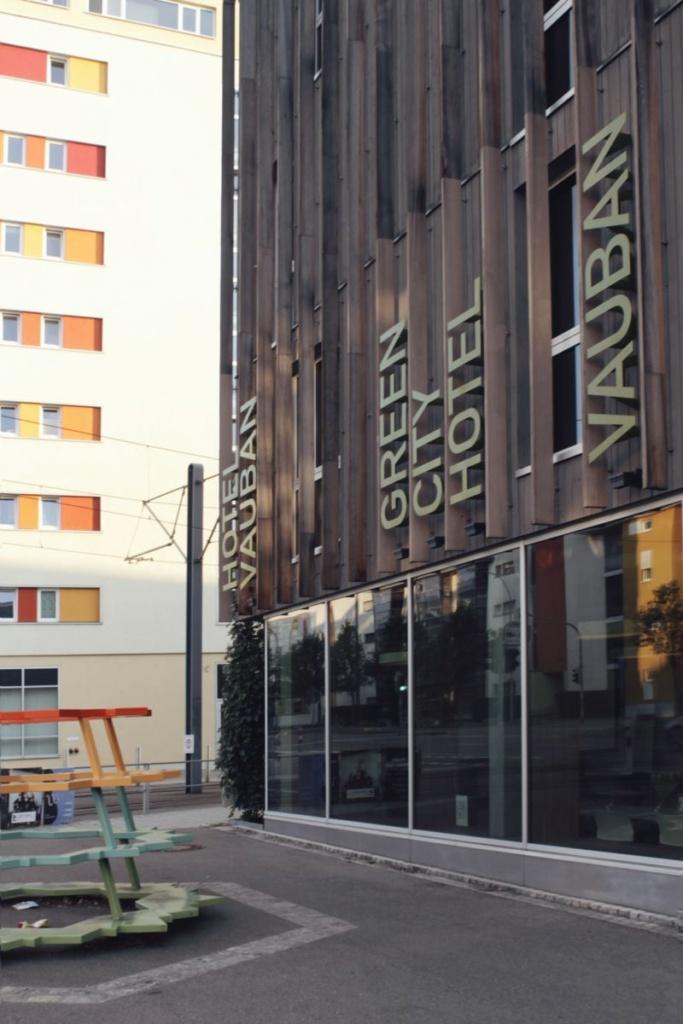 Fachada del Green City Hotel de Vauban