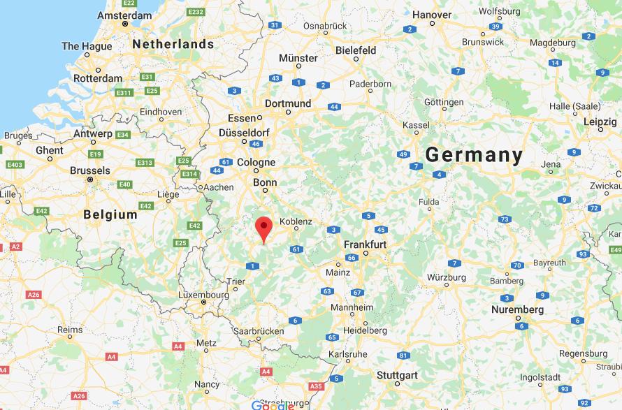 A 120km al sur de Colonia, en el oeste de Alemania, se encuentra el aeródromo militar de Büchel, en el que se almacenan 20 armas nucleares B61 del ejército de los EEUU
